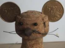 Jak zrobić mysz z korka po winie