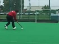 Jak nauczyć się hokeja na trawie #3 - strzały do bramki