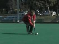Jak nauczyć się hokeja na trawie #4 - ćwiczenia strzałów