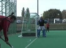 Jak nauczyć się hokeja na trawie #5 - ćwiczenia strzałów c.d