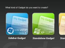 Jak zrobić widget na pulpit - Ashampoo Gadge It