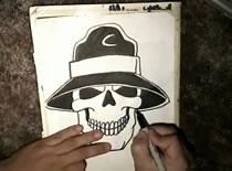 Jak narysować czaszkę czarodzieja