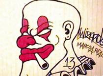 Jak narysować klauna gangstera