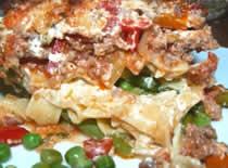 Jak zrobić zapiekankę mezzo z mięsem i warzywami