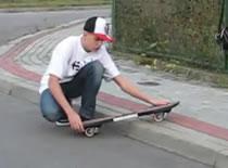 Jak nauczyć się waveboardingu - BoardSlide