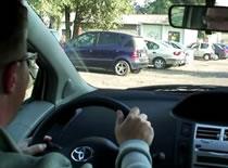 Jak zdać egzamin praktyczny - parkowanie prostopadłe #4