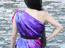 Jak zrobić sukienkę na jedno ramię w dwie minuty
