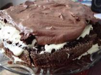 Jak zrobić tort czekoladowo - waniliowy