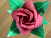 Jak zrobić różę origami