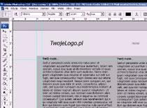 Jak zrobić prosty layout w Adobe Photoshop CS3