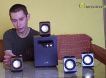 Recenzja głośników Genius 5.1 SW 1020