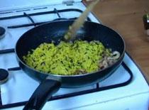 Jak zrobić owoce morza z ryżem - kuchnia sportowca