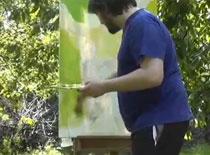 Jak malować farbami olejnymi - postać w plenerze #1