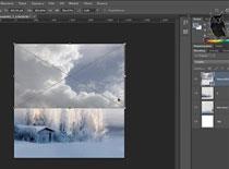 Jak w Photoshopie zrobić świąteczną kartkę #1
