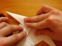 Jak robić cyfry z papieru - dwójka