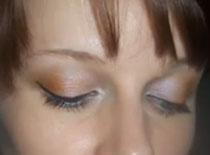 Jak zrobić letni makijaż w odcieniach brudnego pomarańczu