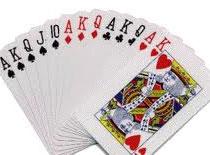 Jak podrzucić całą talię kart