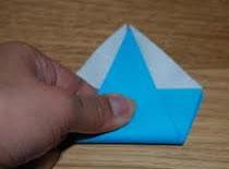 Jak robić cyfry z papieru - piątka