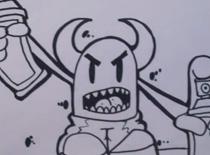 Jak narysować diabła graffiti