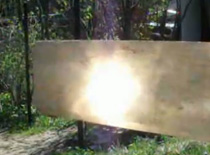 Jak zrobić broń Archimedesa - reflektor słoneczny dużej mocy