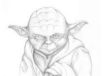 Jak narysować Yodę ze Star Wars
