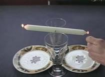 Jak zrobić balansującą świeczkę