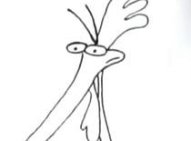 Faworinho Jak narysować kurczaka z Cow & Chicken