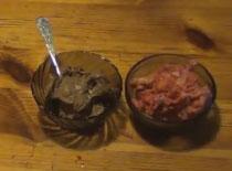 Jak zrobić zdrowe lody bananowe (karob i truskawka)