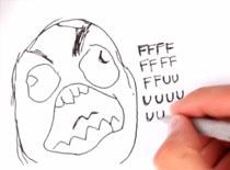 Jak narysować mema Rage Guy