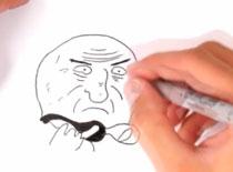 Jak narysować mema Mother of God