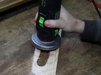 Jak zrobić unikalną tacę drewnianą cz. 4 - frezowanie