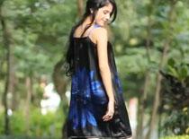 Jak zrobić sukienkę z jedwabnej chusty