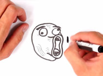 Jak narysować mema LOL Guy