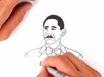Jak narysować mema Not Bad (Barack Obama)