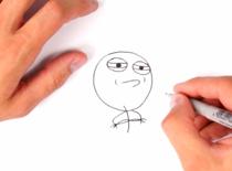 Jak narysować mema Challenge Accepted