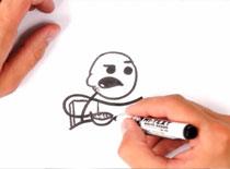 Jak narysować mema Cereal Guy