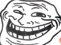 Jak narysować mema Trollface