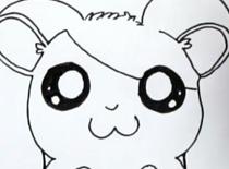 Jak narysować Hamtaro
