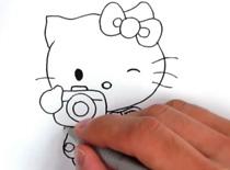 Jak narysować postać Hello Kitty