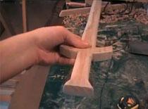 Jak zrobić drewniany miecz