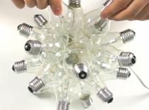 Jak zrobić lampę z żarówek
