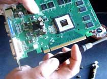 Jak zamontować chłodzenie North-Q na kartę graficzną 8600GT