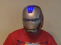 Jak zrobić laserowy hełm Iron Man'a