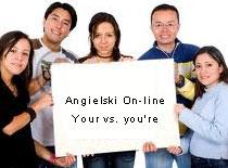 Jak nauczyć się języka angielskiego - your vs. you're