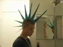Jak zrobić irokeza - Liberty Spike Mohawk