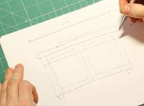 Jak zrobić szafkę łazienkową - cz. 1 projekt