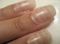 Jak zrobić gazetowe paznokcie