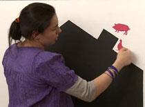 Jak zrobić tablicę do rysowania na ścianie
