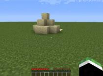 Jak zrobić pułapkę z piasku i pochodni w Minecraft