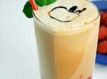Jak zrobić kawę mrożoną - malinowe Frappe